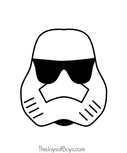 Storm Trooper Template