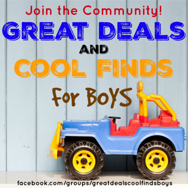 Great Deals and Cool Finds for Boys