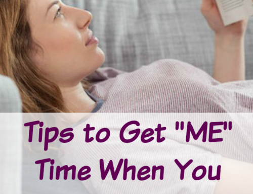"How to Get ""ME"" Time When You Have a House Full of Kids"