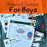 Potty Training Reward System for Boys