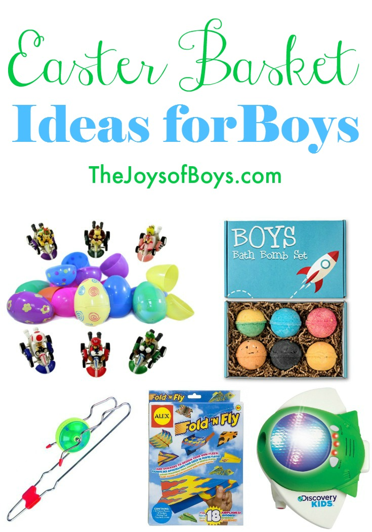 Easter basket ideas for boys unique easter gift ideas boys will love easter basket ideas for boys negle Gallery