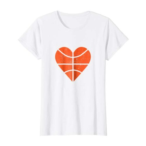 Basketball Heart T-shirt