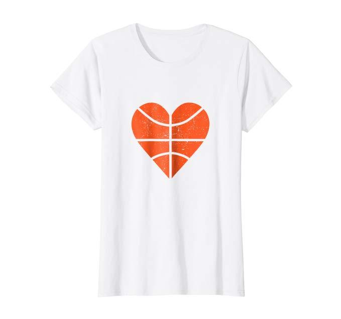 Basketball Heart T-shirt