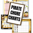 Pirate Chore Charts