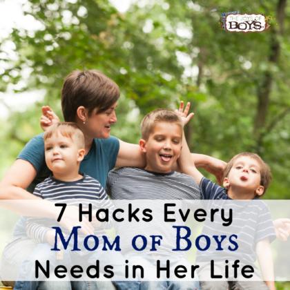 hacks mom of boys