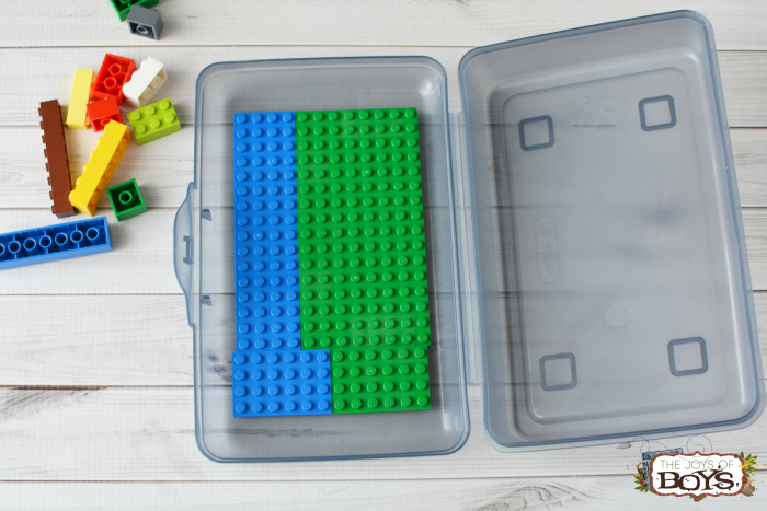 LEGO Travel Box : How to Make a Simple LEGO Box