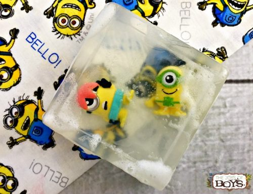 HOW TO MAKE YOUR OWN MINION SOAP
