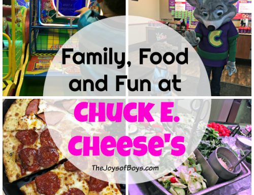 Family, Food and Fun at Chuck E. Cheese's