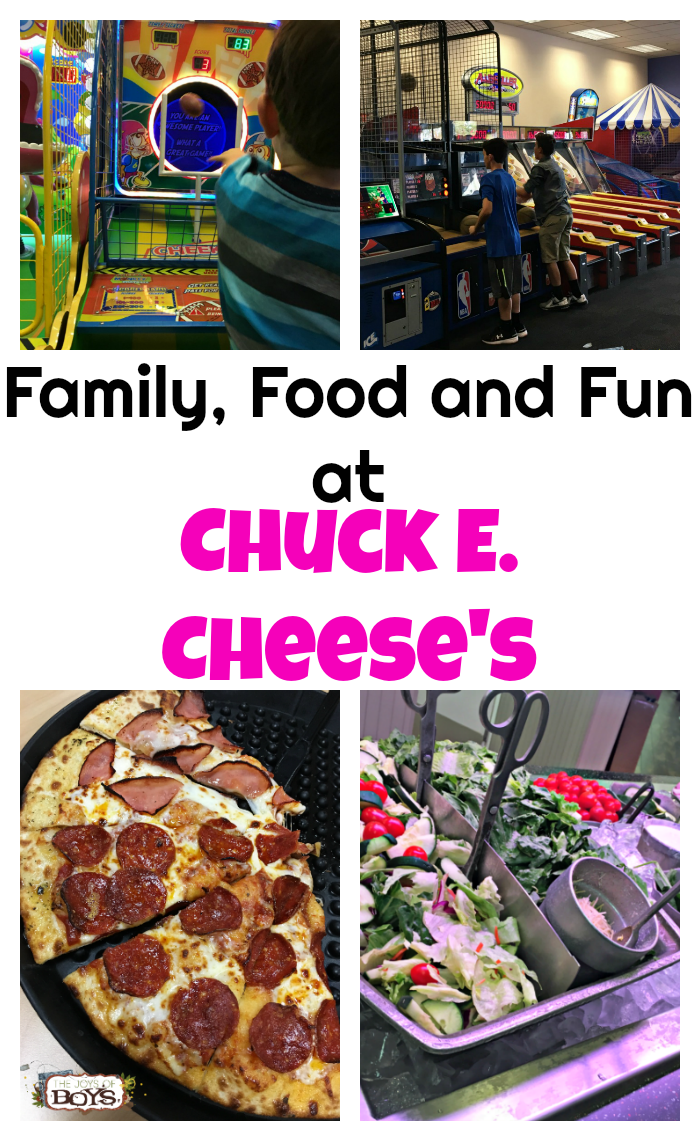 Chuck E. Cheese's provides yummy food and fun activities for the entire family to enjoy.