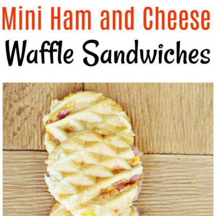 Waffle Sandwich recipe