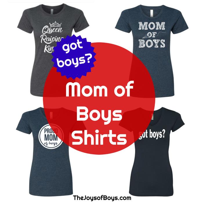 Mom of Boys Shirts