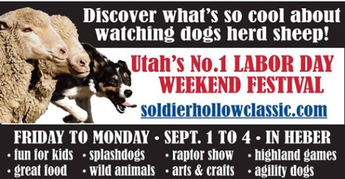 Soldier Hollow Sheepdog Championship GIVEAWAY