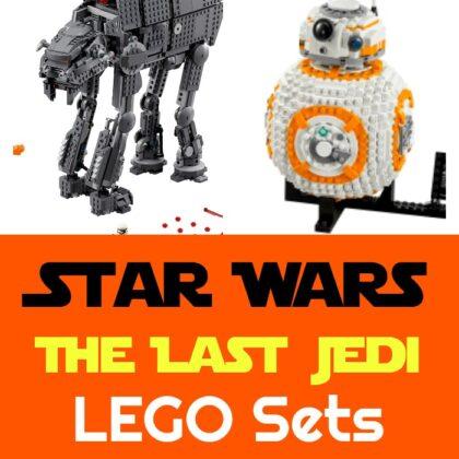 The Last Jedi LEGO Sets