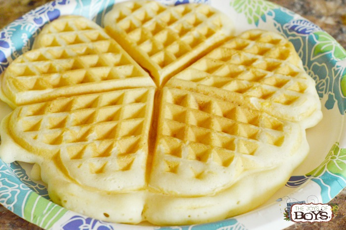 How to make waffle sandwiches