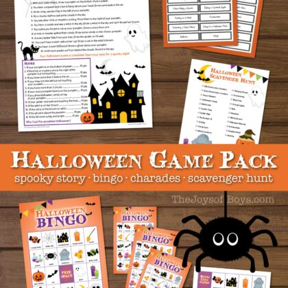Printable Halloween Games for Kids