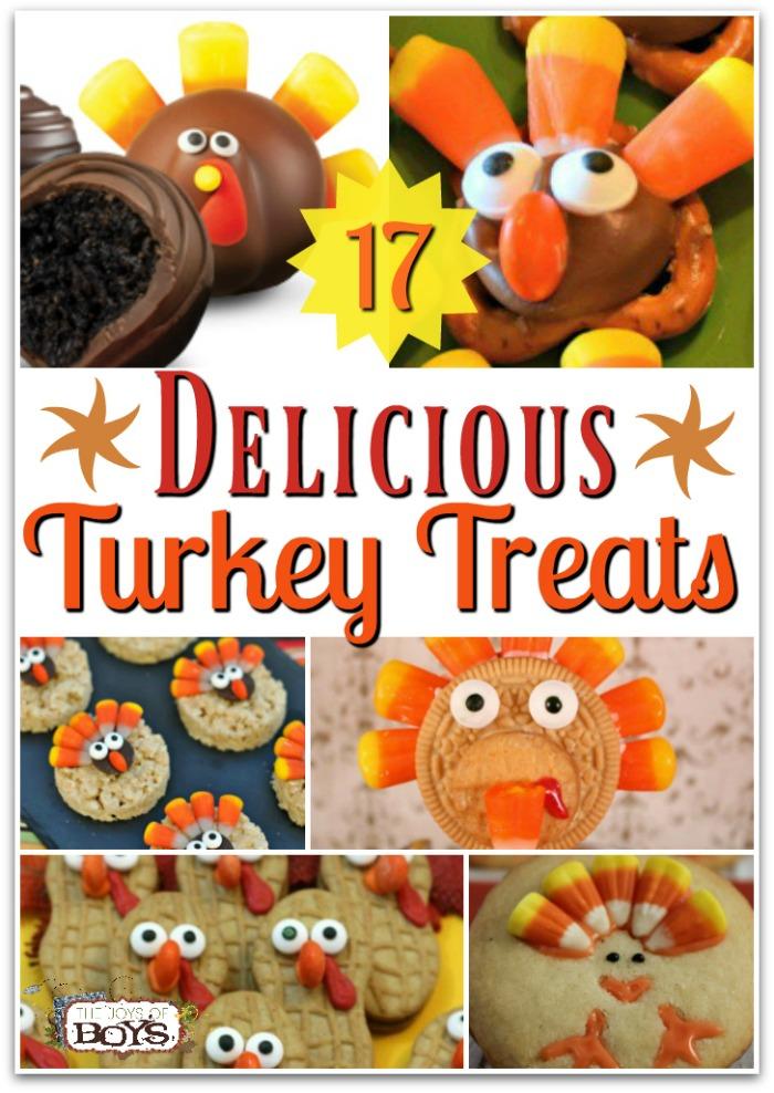 Turkey Treats Kids Will Gobble Up