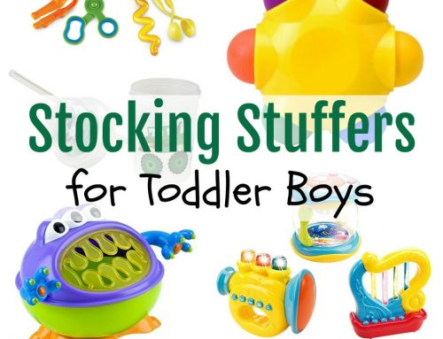 Stocking Stuffers for Toddler Boys