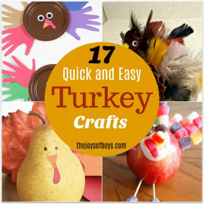 Easy Turkey Crafts