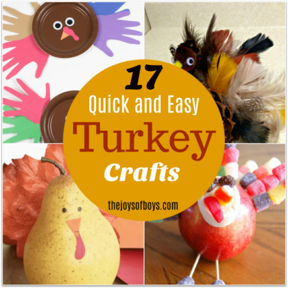 Easy Turkey Crafts