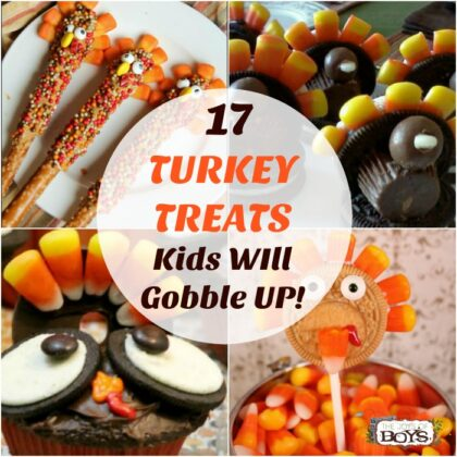 Turkey Treats Kids will gobble up.