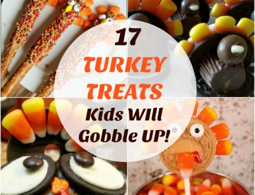 17 Turkey Treats Kids will Gobble Up