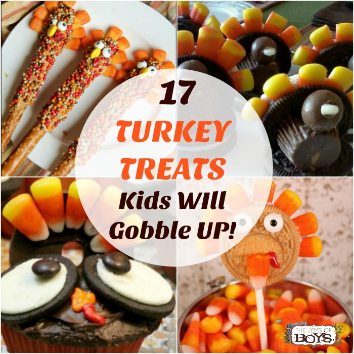 17 Turkey Treats Kids will Gobble Up