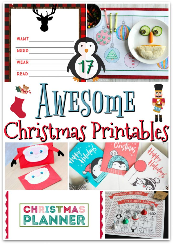 Free Christmas Printables Kids Will Love