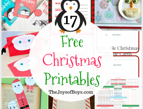 17 Free Christmas Printables Kids Will Love