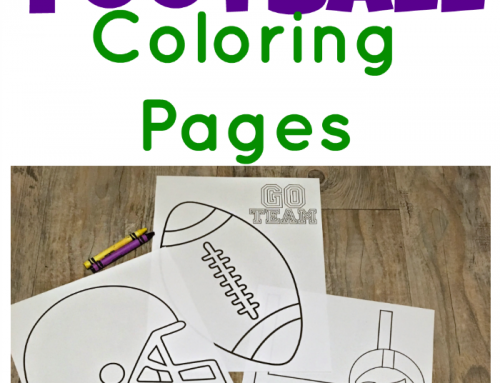 Printable Game-Day Football Coloring Pages