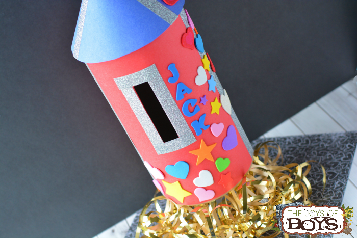 Rocket Valentine Box