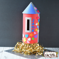 Rocket Valentine Box