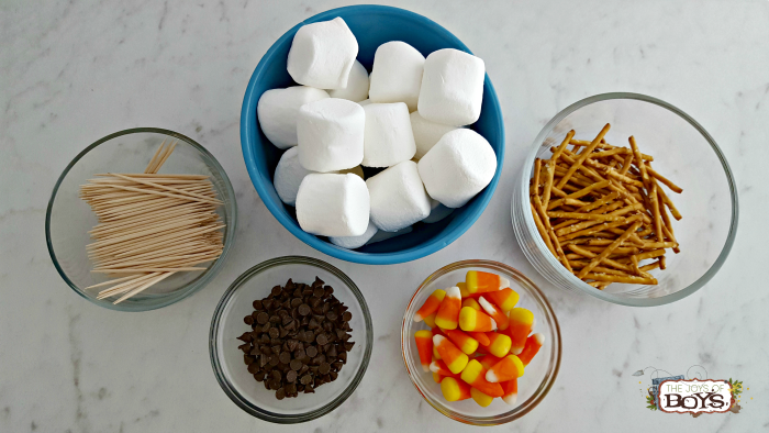 Marshmallow Snowman Hot Chocolate Ingredients