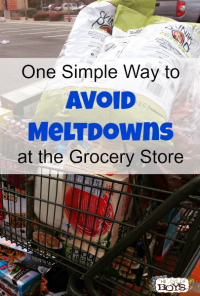 Avoid meltdowns