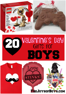 20 Valentine's Day Gifts for Boys