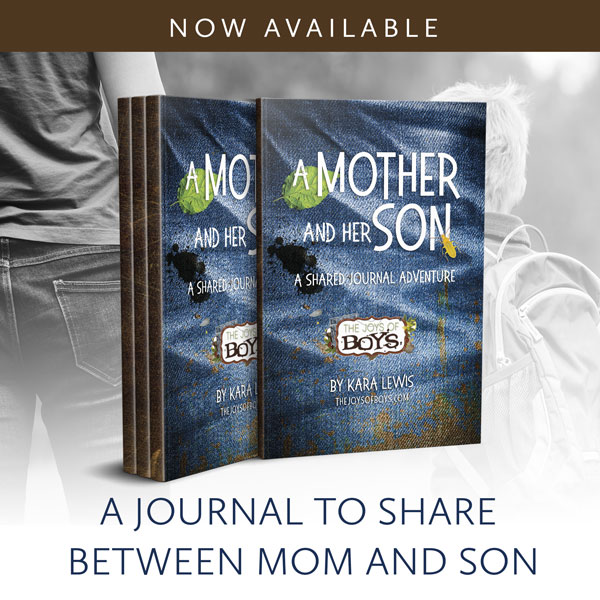 This Mother Son journal full of prompts that will help a mother bond with her son.