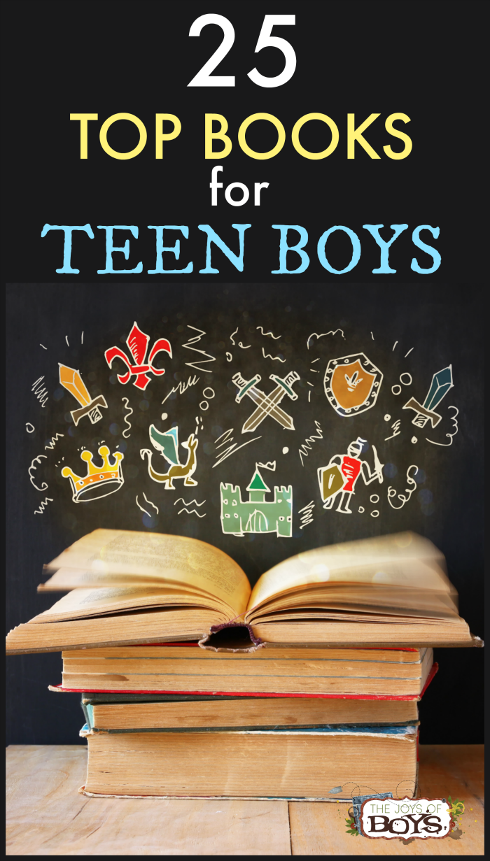 25 of the Best Books for Teen Boys