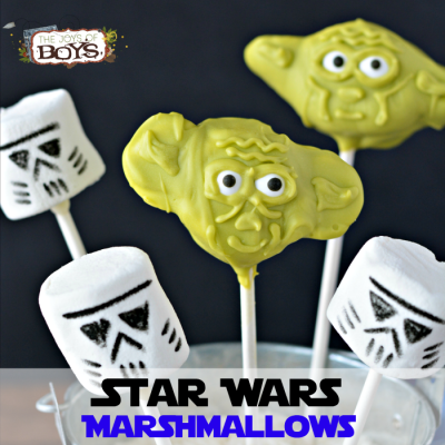 How to make Star Wars Marshmallows