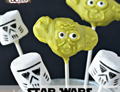 How to Make Star Wars Marshmallow Pops