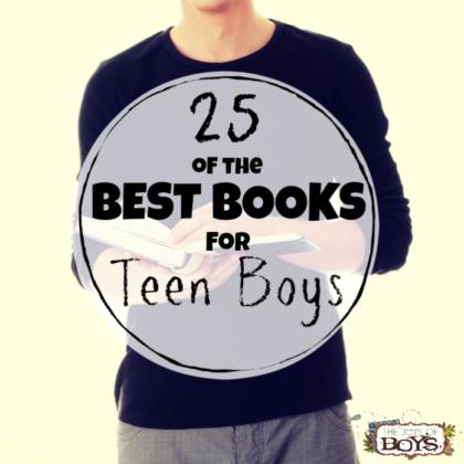 Best Books for Teen Boys