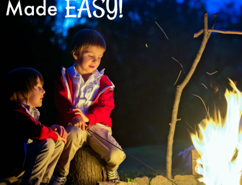 How to Make Camping with Kids Easy and Stress-Free Using Camping Printable Checklists and Activities
