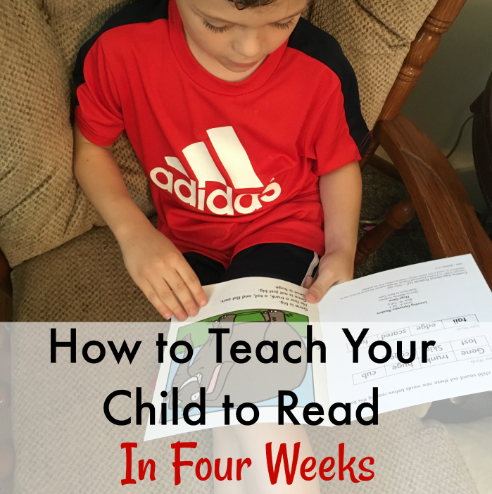 How to teach your child to read in 4 weeks using Learning Dynamics reading system