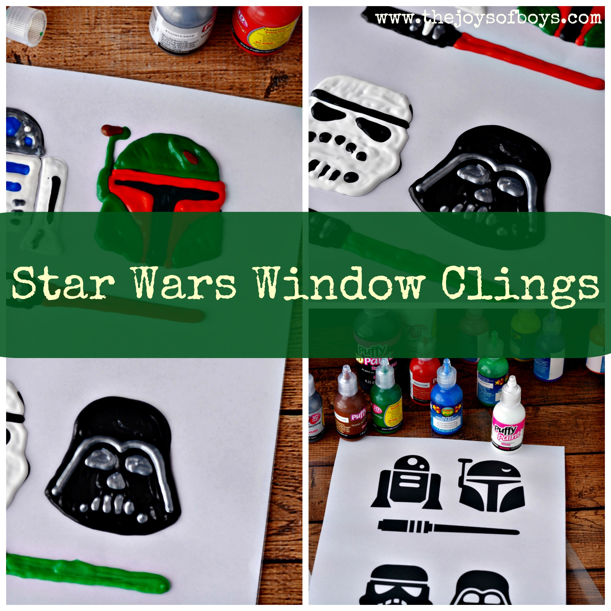 Star Wars Window Clings