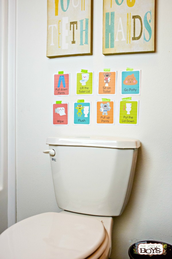 Potty Training Cards
