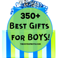 The ultimate gift guide for boys with over 350+ best gifts for boys.