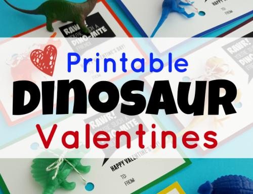 Dinosaur Valentines: Free, Printable Valentines Kids Will Love