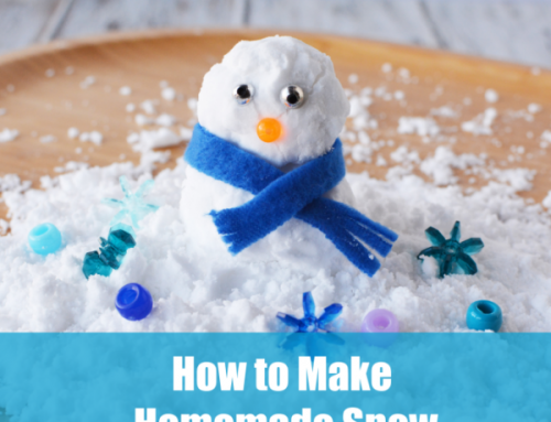 How to Make Homemade Snow