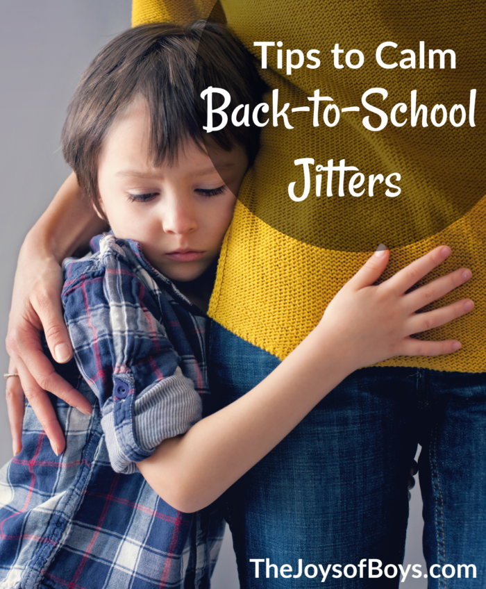 Tips to Calm Back to School Jitters and Help Children be Excited for School