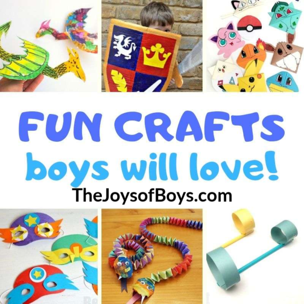 20+ of the Most Amazingly Fun Crafts Boys Will Love