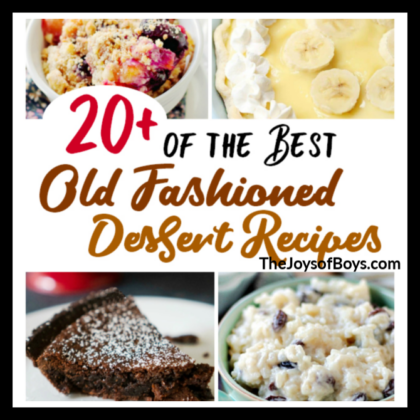 20+ of the Best Old Fashioned Dessert Recipes