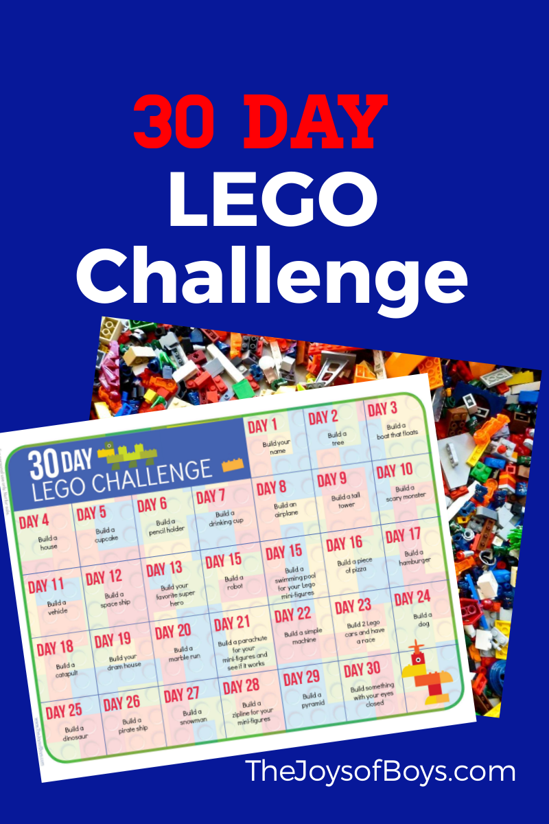 30 Days of LEGO building activities